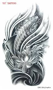 large flower tattoo designs large temporary tattoo stickers waterproof women men high quality