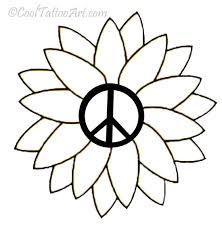 free peace sign tattoos designs cooltattooarts