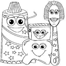 Exle Picture Of Dental Health Coloring Page Exle Picture Of Brushing Teeth Coloring Pages
