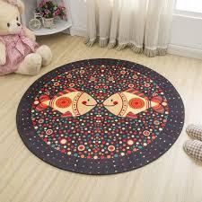 tapis rond chambre b simple style rond tapis enfants tapis pour chambre chevet tapis