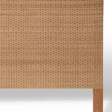 palecek woven wicker headboard king pk 7139