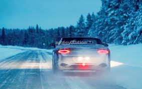 bentley continental 24 the cars spyshots 2018 bentley continental gtc enjoys winter with the top