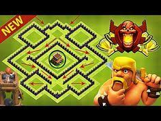 layout design th7 new th7 best hybrid base design 2017 clash of clans town hall 7