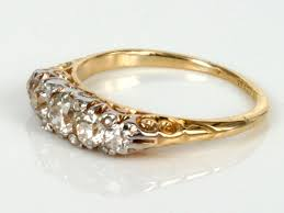 antique gold engagement rings yellow gold antique engagement rings the historical era of