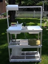 Best Camping Kitchens  Chuck Boxes Images On Pinterest - Oztrail camp kitchen deluxe with sink