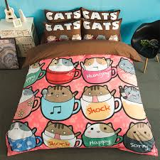 Kitten Bedding Set Compare Prices On Bedding Set Children Cats Online Shopping Buy