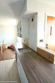 How Long Does It Take To Install Cabinets How To Install New Countertops On Old Cabinets The Happy Housie