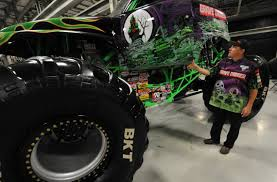 monster truck show in tampa fl monster jam trucks fine tuned at palmetto based feld entertainment