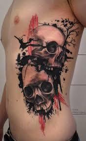 119 badass skull tattoos and designs