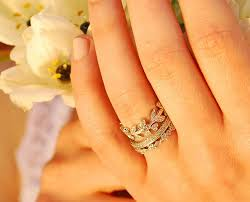 stackable wedding rings 19 gorgeous stacked wedding rings