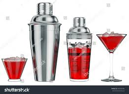 cocktail shaker vector cocktail shaker metal glass cup front stock illustration 447689596