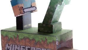 new paper craft minecraft papercraft u2013 passive vs aggressive