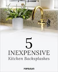 easy backsplash ideas for kitchen 18 diy backsplash ideas for kitchen get inspired kitchen