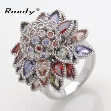 gem silver rings images Multi gem ring 925 sterling silver multi color stone ring multi jpg