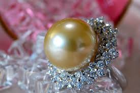 best pearl rings images Lecollier rakuten global market come on do it ahead of the jpg