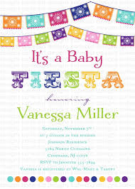 mexican baby shower invitations xyz
