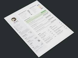 Free One Page Resume Template 25 Web Developer Resume Templates Free Download Psd Word