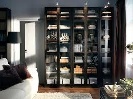 bookcase amusing ikea bookcase with glass doors dark blue