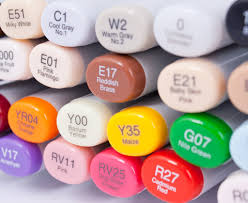 copic sketch markers red colors at guiry u0027s color source