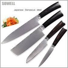 kitchen knives set sale reviews sowell damascus knives set kitchen knives 8 inch chef 7