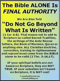 spiritual authority authority bible god s word