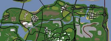 San Andreas Map Red County Gta Wiki Fandom Powered By Wikia