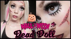 Youtube Halloween Makeup by Living Dead Doll Halloween Makeup Youtube
