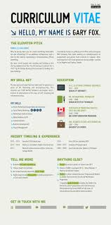 resume examples graphic design infographic cv for gary fox graphic design and illustration gary fox cv