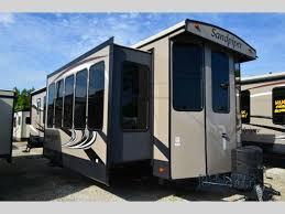 sandpiper travel trailer floor plans new 2016 forest river rv sandpiper destination trailers 385fkbh