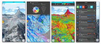 Map Geo Fatmap App Brings Skiing Maps To The Next Level Geoawesomeness