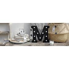 ustensile de cuisine en m en 6 lettres toile led lettre m l 90 x h 30 cm leroy merlin