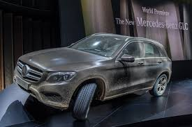 mercedes benz jeep matte black interior world premiere mercedes benz glc