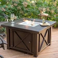Outdoor Propane Gas Fireplace - propane fire pits hayneedle