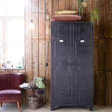 armoire metallique chambre armoire metal chambre pas cher et armoires metalliques 2 portes