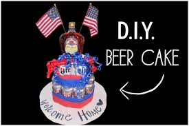 beer cake how to diy beer can cake youtube