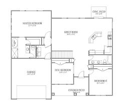 46 3 bedroom house plan blueprint bedroom house blueprints modern