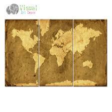 World Map Canvas by Online Get Cheap Antique Map Art Aliexpress Com Alibaba Group