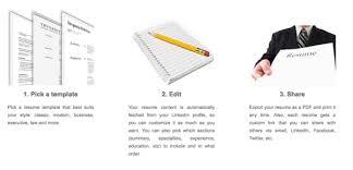 Print Resume From Linkedin Linkedin U0027s New Tool Lets You Create A Professional Cv Offline