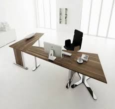 Modern L Shape Desk Brown Wood Modern L Shaped Desk Ideas All About House Design