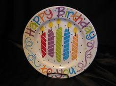 personalized birthday plate birthday birth announcement plate or special occasion plate 10