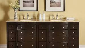 silkroad exclusive stone counter top double sink cabinet 72 inch