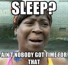 Team No Sleep Meme - team no sleep ronny rachel