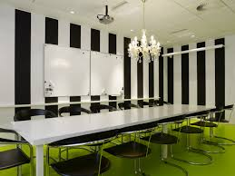 rectangle green glass meeting table with white polished iron based