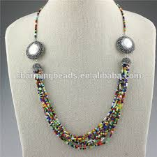 crystal design necklace images Ch jbn0337 fashion crystal bead design jewelry necklace handmade jpg