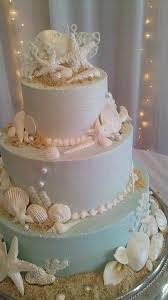 Seashell Centerpieces For Weddings by Best 25 Beach Themed Cakes Ideas On Pinterest Beach Theme Cakes