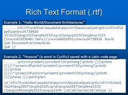 lecture 2 character codes and low structure text document formats
