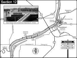 Illinois River Map Beardstown Il Illinois River Map Beardstown Il U2022 Mappery