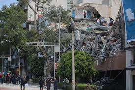 mexico city halloween mexico city earthquake video shows extensive damage time com
