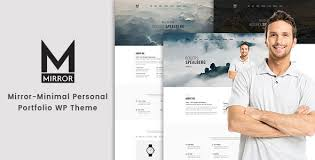 theme mirror mirror minimal portfolio theme by hastech themeforest