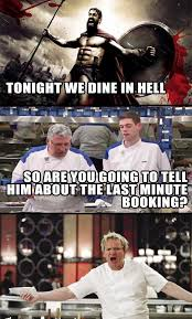 Hells Kitchen Meme - tonight we dine in hell s kitchen imgur